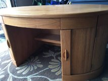 ** Awesome Oval All Wood Desk from Art Van Furniture was $700 New!!! in Lockport, Illinois