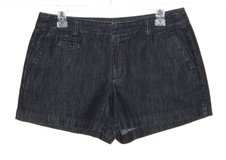 Ann Taylor LOFT Denim Jean Shorts Womens 6 Dark Blue in Joliet, Illinois
