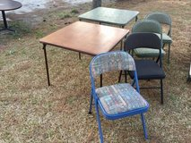 4 Folding Chairs in Camp Lejeune, North Carolina