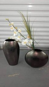 Decorative Vases with Faux Orchids in Wilmington, North Carolina