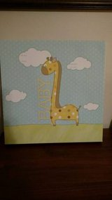 Write-on Canvas for Baby - New!  PRICE REDUCED TO $10 in Wilmington, North Carolina