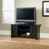 Sauder TV Stand for Flat-Screen TVs (Black) - NEW! in Lockport, Illinois