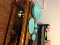 7 Piece Melmac Dinner Ware Blue Turquoise set in Vacaville, California
