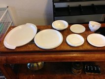 11 piece Vintage 1950s Boonton White Dish Set Ware I will be in Fairfield on 6/16 if you want me... in Travis AFB, California