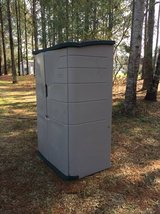 Rubbermaid #3749 2ft by 4ft Large Vertical Shed in Camp Lejeune, North Carolina