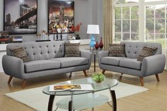 Sofa and Loveseat Retro Style Set FREE DELIVERY in Miramar, California