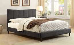 Dark Gray QUEEN Ennis Bed Frame FREE DELIVERY in Miramar, California