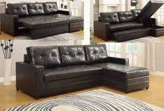 New Kemen Sectional Sofa Bed with Storage FREE DELIVERY in Miramar, California