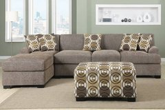 New Slate Brown Gray Sofa/Loveseat Sectional FREE DELIVERY in Miramar, California