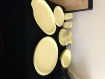 12 piece Yellow Boonton Vintage 1950s Retro Dish Set Ware in Roseville, California