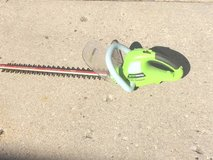 Green Works Hedge Trimmer in Glendale Heights, Illinois