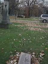 Cemetery plot block bohemian national cemetery - near chicago cubs columbarium - in Lockport, Illinois