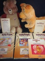 Teddy Ruxpin, Grubby, Cable, Books, Cassettes 1984/1985 WOW VINTAGE in Aurora, Illinois