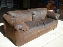 microfiber couch - pet/smoke free environment in Naperville, Illinois