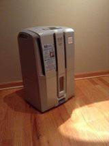 New, Never Used DeLonghi 50 Pt. Energy Star Dehumidifier in Lockport, Illinois