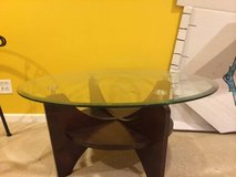 1 CENTER TABLE and 2 matching SIDE TABLES, GLASS TOP, EXCELLENT Cond. in Algonquin, Illinois