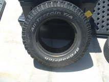 one used condition bf goodrich all-terrain t/a 245/75/16 lt245/75r16 80305 in Fort Carson, Colorado