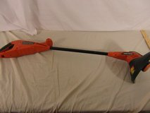 black and decker orange cordless string trimmer untested / no power cord 32452 in Huntington Beach, California