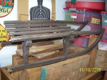 INTERIOR DECORATING DECOR - ANTIQUE WOODEN CHILD'S SLED in Conroe, Texas