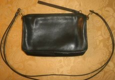 Vtg 1980's Coach blue leather Purse Bag clutch cross body shoulder in Bolingbrook, Illinois
