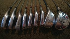 Golf clubs - irons, putter, woods in Moody AFB, Georgia