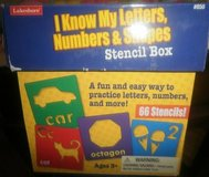 LakeShore Learning Set Letters, Numbers & Shapes Giant Stencil Box in Lockport, Illinois