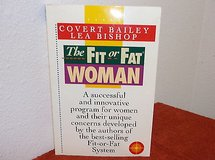 Vintage 1989 The Fit or Fat Woman Soft Cover Book in Joliet, Illinois