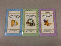 Lot of 3 Winnie-the-Pooh Books A B C's * Colors * Oppodites Rare Vintage 1995 in Plainfield, Illinois