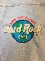 Hard Rock Cafe Taipei Denim Jacket, Size Men's Large in Byron, Georgia