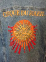 Cirque Du Soleil Denim Jacket, Mens Size Medium in Byron, Georgia