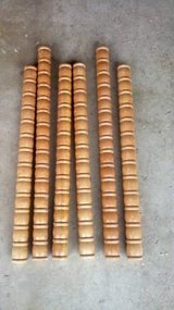 6 WOOD SPINDLES in Chicago, Illinois