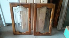2 GLASS/WOOD DOOR FOR PROJECTS in Chicago, Illinois