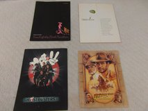 4 press kits trail of the pink panther, ghost busters ii, indiana jones & more in Fort Carson, Colorado