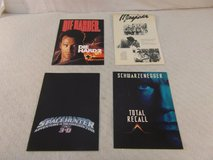 4 hollywood movie press kits die hard 2, space hunter 3-d, total recall, mayeda in Fort Carson, Colorado