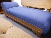Blue Fainting Couch Chaise in Elgin, Illinois