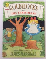 Goldilocks and The Three Bears Hard Cover Book with Dust Jacket Age 4 - 8 * Grade Preschool - 3rd in Morris, Illinois