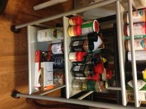 Large rolling spice rack cooking buddy in Sacramento, California
