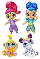 New! Nickelodeon Plush Stuffed Doll  SHIMMER & SHINE Genie TALA Nahal in Joliet, Illinois