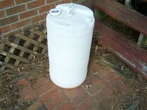 Plastic Storage Barrel / Container -15 gal. in Cherry Point, North Carolina
