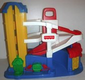 Vintage 1995 Fisher Price LITTLE PEOPLE Action Ramp Garage in Joliet, Illinois