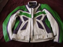 Heavy Leather Motorcycle riding Jacket in Cherry Point, North Carolina