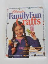 Disney's Family Fun Crafts 500 Creative Activities for You and Your Kids Hard Cover Book in Chicago, Illinois