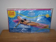 "Sun Shine 72"" ADULT Hot Pink Float NEW SEALED Beach Pool in Oswego, Illinois"