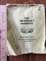 1982 Army Air Assault Handbook from Fort Campbell KY Training School in Aurora, Illinois
