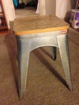 Wood and Metal or Aluminum stool in Beale AFB, California