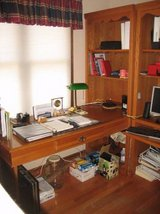 Office Furniture - Desk, Shelving Units, Lateral File Cabinet & Chairs in Joliet, Illinois