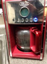 Bella 12CUP Automatic Coffee Maker Programmable, Coffee pot, RED, Leni in Beale AFB, California