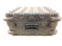 platt military type super-size tool case black bumpers ribbed locks handle in Fort Carson, Colorado
