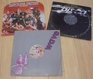 """3- 12""""; disco vinyl records, last night a.d.j.saved my life-but there before the in Batavia, Illinois"""