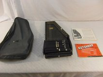 oscar schmidt 15-chord vintage autoharp w/ case and song books 33765 in Huntington Beach, California